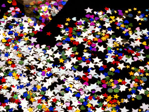 Spilled Confetti detail