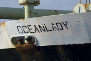 53 AX OL name on hull
